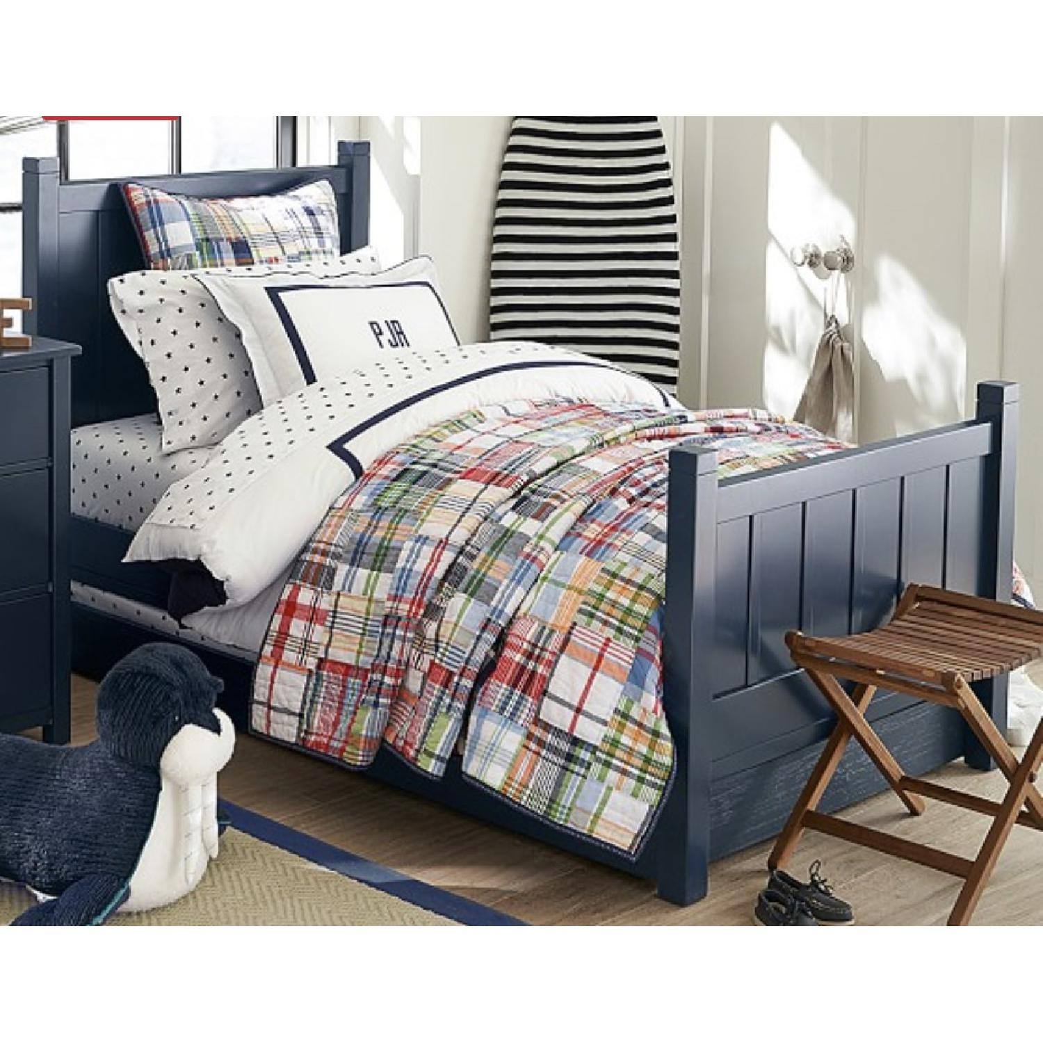 pottery barn camp bed