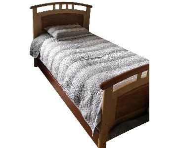Vermont Precision Woodworks Twin Bed