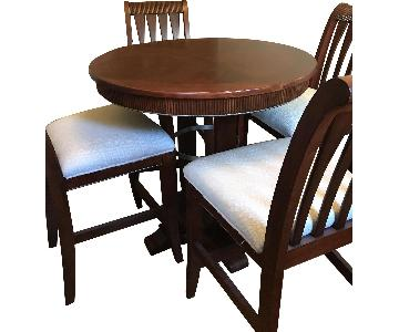 American Signature Furniture Pub Height 5-Piece Dining Set
