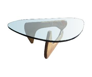 Manhattan Home Design Noguchi Coffee Table in Walnut