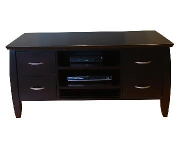The Door Store 6 Drawer Media Console