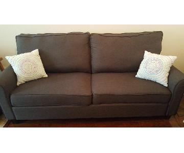 Beachcrest Home Buxton Dark Brown Sofa