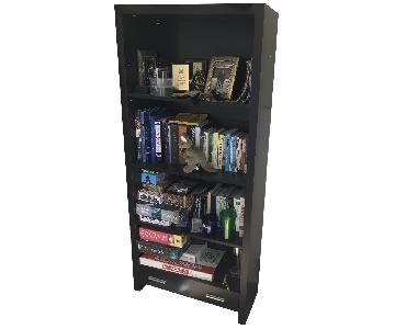 Downtown Furniture Wooden Bookcase w/ Storage Drawer