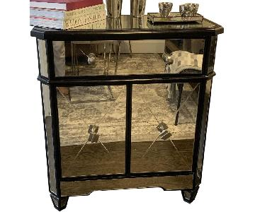 Mirrored Credenza w/ Drawer