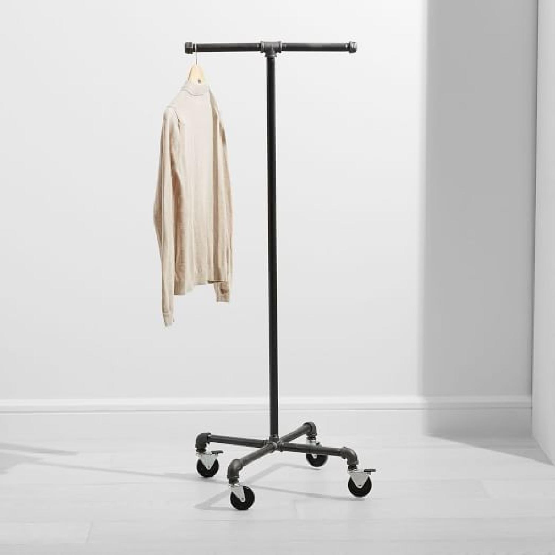 West Elm Monroe Trades Mobile Clothing Rack - image-5