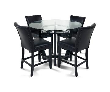 Bob's Matinee 7-Piece Counter Height Dining Set