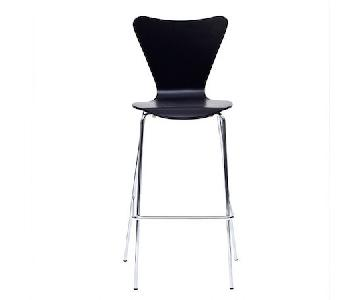 West Elm Scoop Back Bar Stools