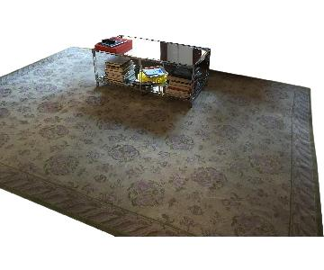Stark Carpet Silk Floral Pattern Area Rug