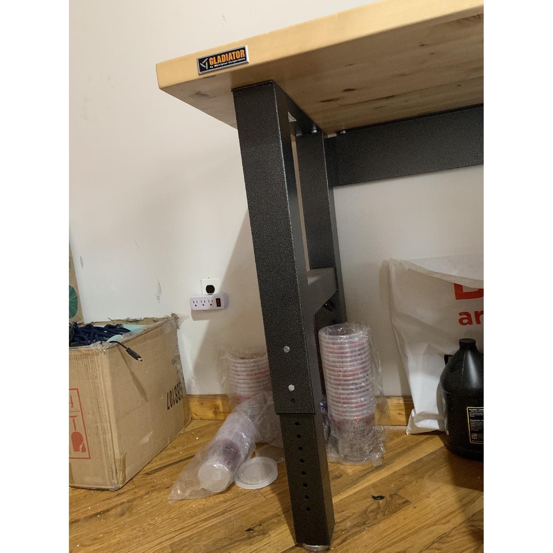 Gladiator Hardwood Top Adjustable Height Workbench-0