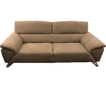 Nicoletti Tesla Two-Seater Sofa in Light Grey