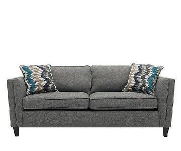 Raymour & Flanigan Grey Sofa