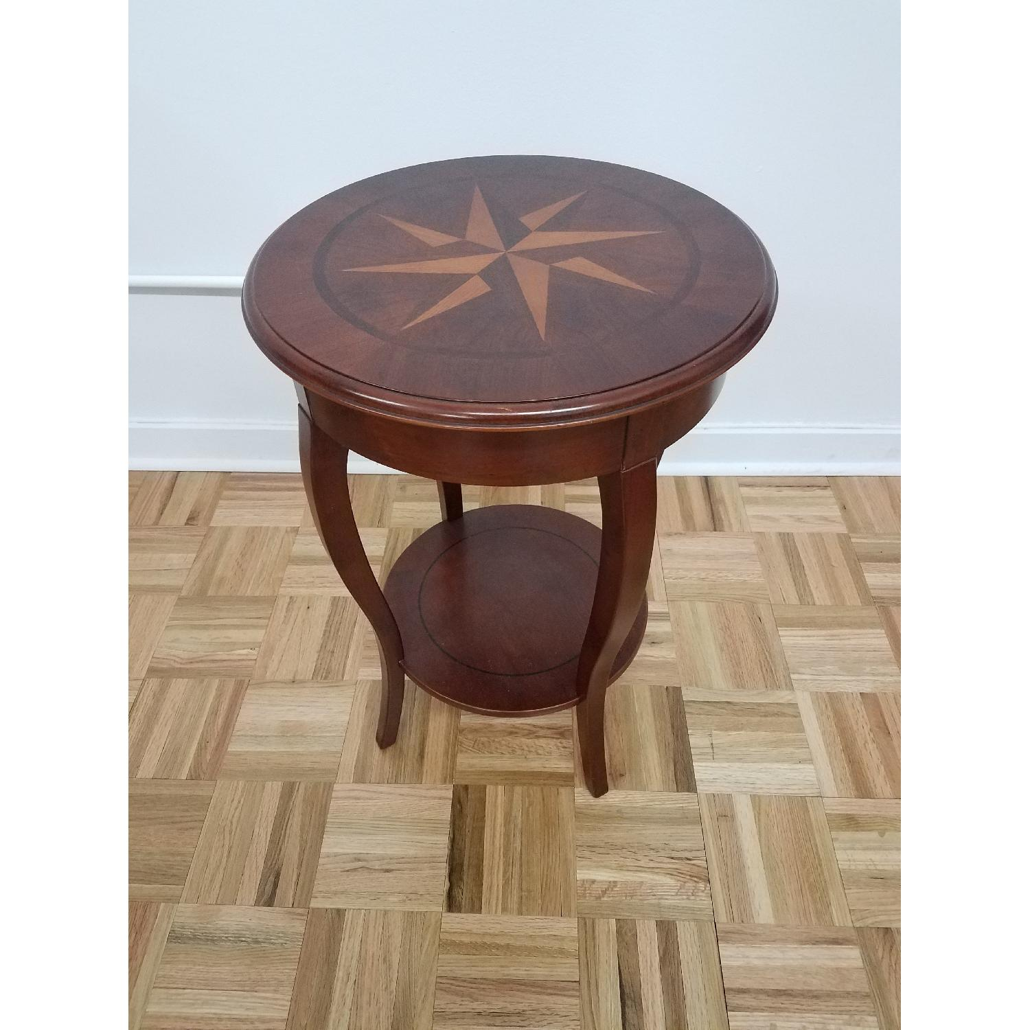 The Bombay Company Compass Side Table-0