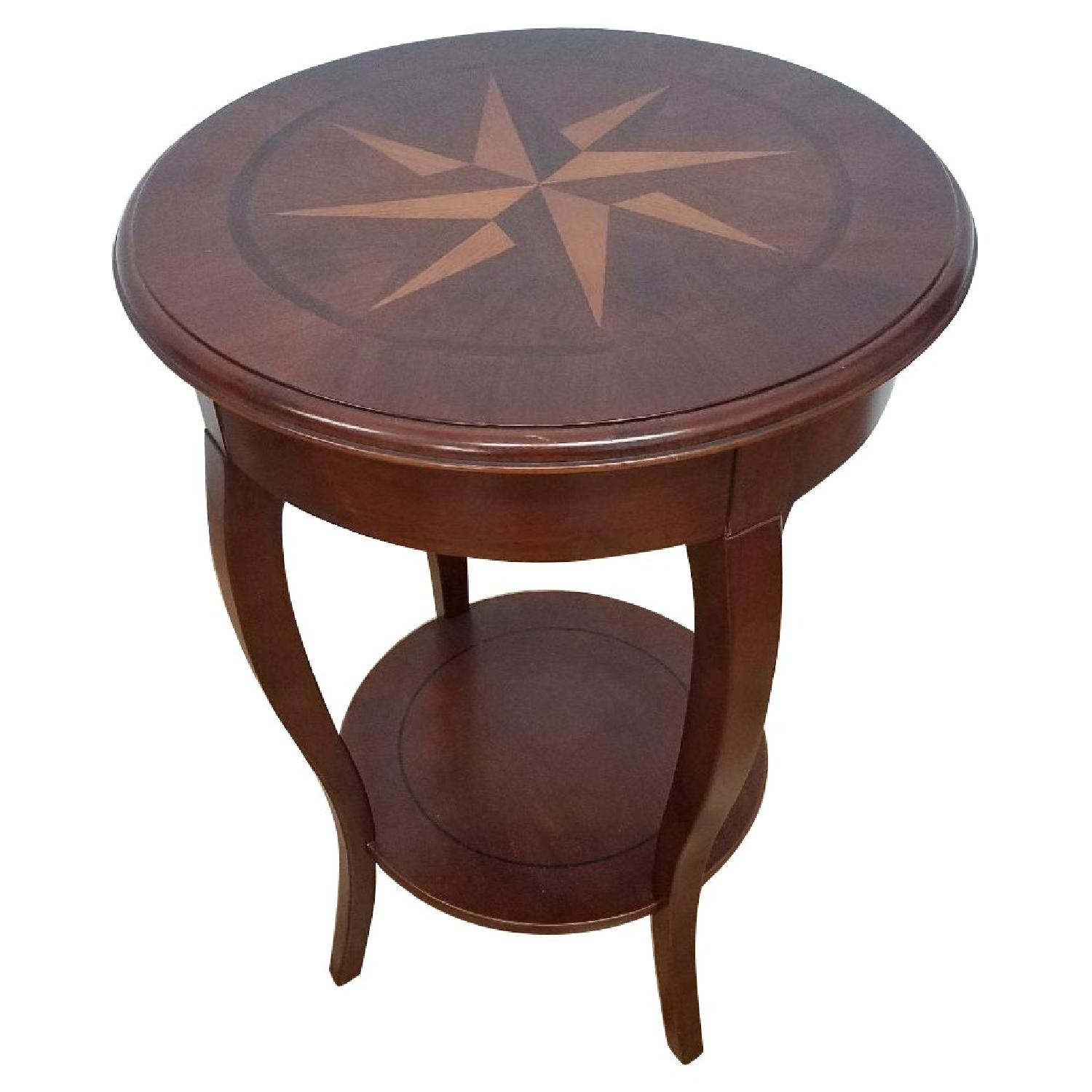 The Bombay Company Compass Side Table