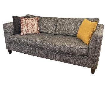 Raymour & Flanigan Sofa in Dark Gray