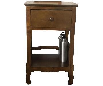 HomeGoods Solid Wood Nightstand