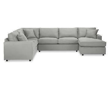 Room & Board York 4-Piece Sectional Sofa