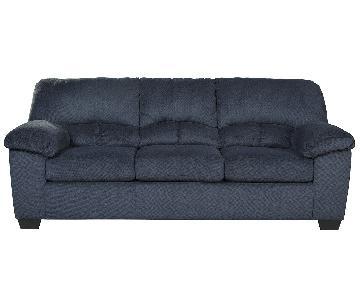 Ashley Dailey Midnight Blue 3-Seater Sofa