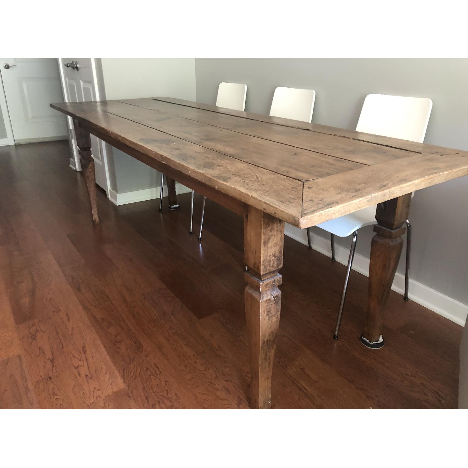 Reclaimed Wood Dining Table-2