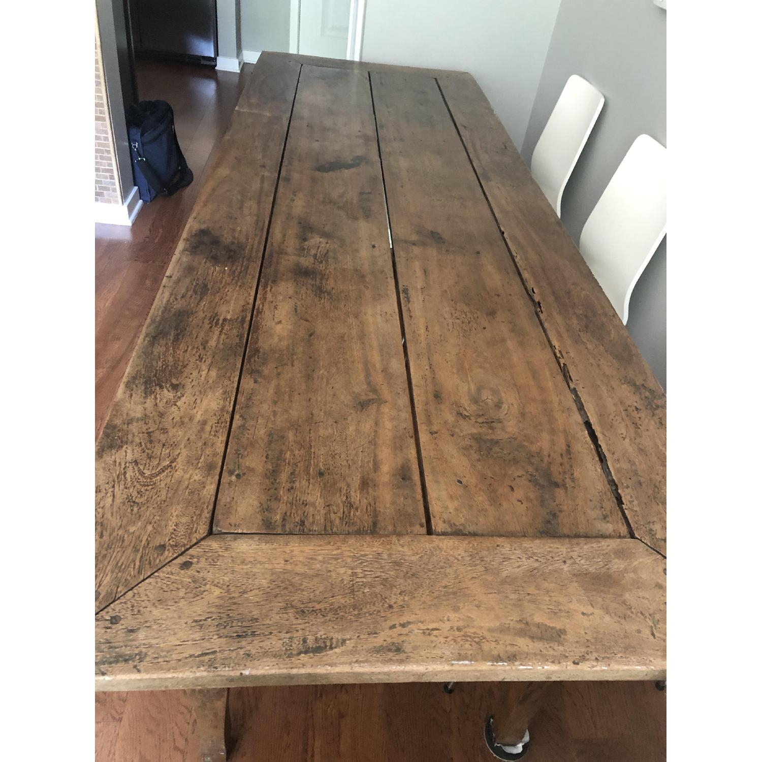 Reclaimed Wood Dining Table-3