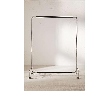 Urban Outfitters Rolling Clothes Rack
