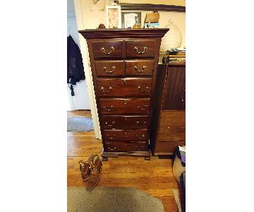 Vintage Solid Wood 7 Drawer Chest