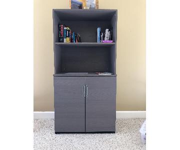 Ikea Wooden Storage Cabinet