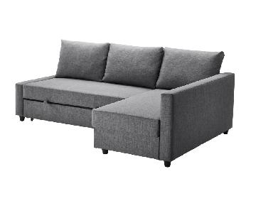 Ikea Friheten 3 Seat Sleeper Sectional Sofa w/ Storage