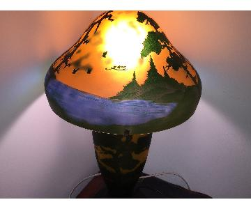 Emille Gall Art Deco Table Lamps