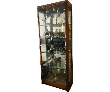 Bloomingdale's Glass Display Cabinet