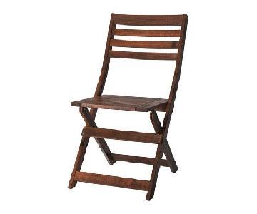Ikea Applaro Outdoor Chairs