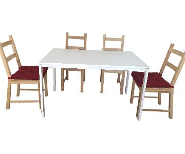 Ikea Dining Table w/ 4 Chairs