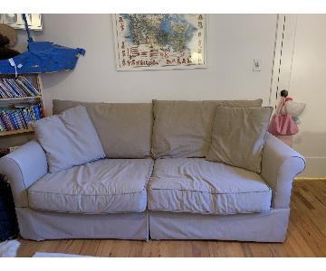 Macy's Slipcovered Full Size Sleeper Sofa