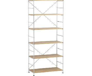 Crate & Barrel Max 6-Shelf Unit