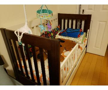 Wood Convertible Crib