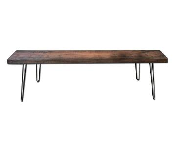 Reclaimed Wood Bench/Coffee Table