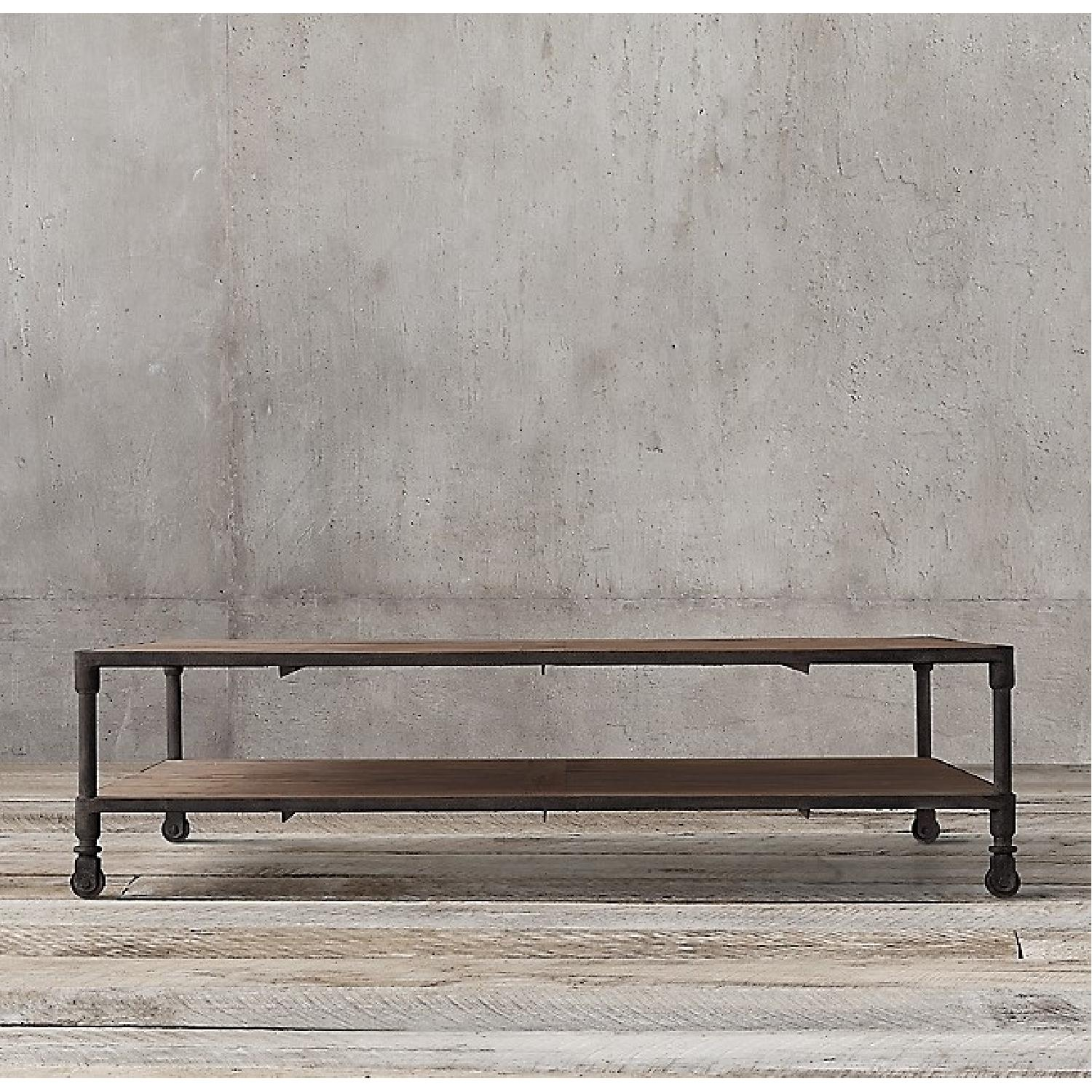 Restoration Hardware Dutch Industrial Coffee Table - image-1