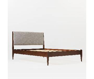 West Elm Modern Show Wood Bed