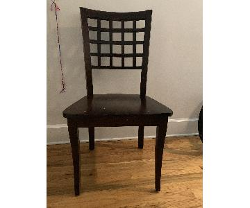 Dining Chairs in Cherry Wood