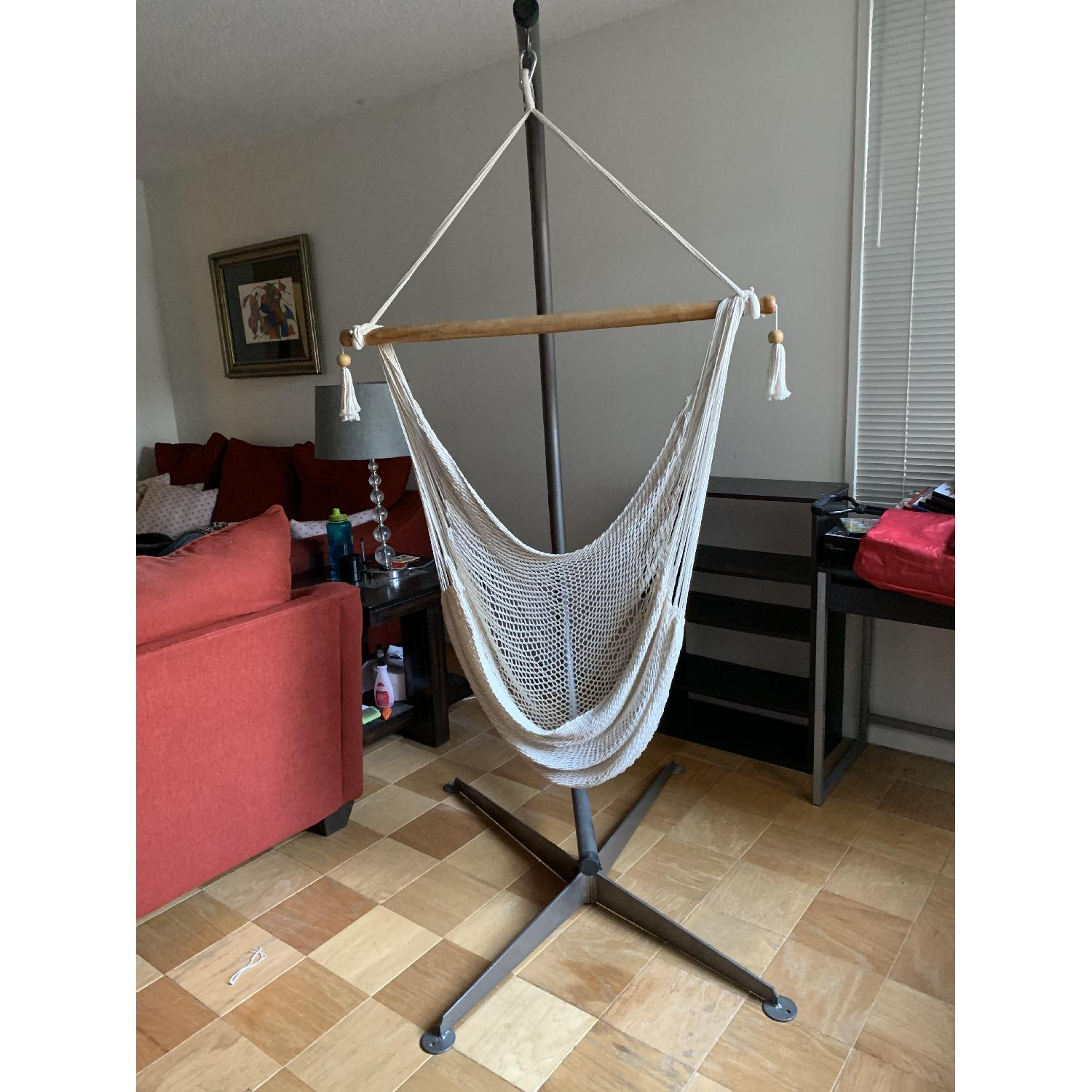 Hammock Chair w/ Stand - image-1