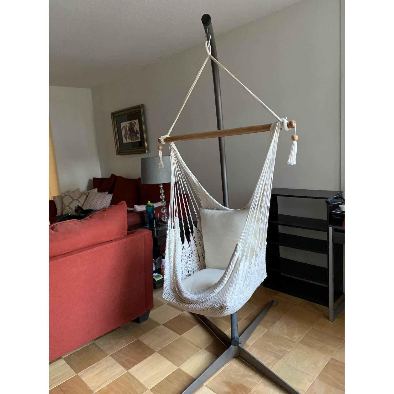 Hammock Chair w/ Stand - image-2
