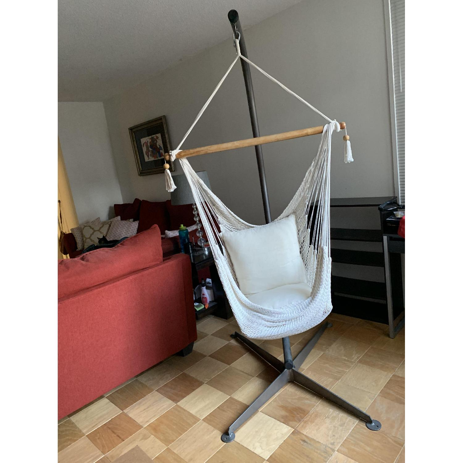 Hammock Chair w/ Stand - image-3