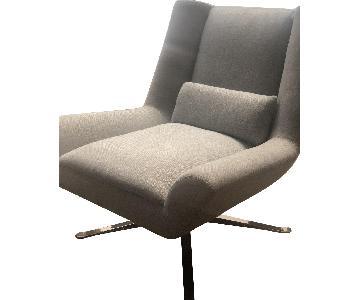 Restoration Hardware Luke Swivel Chair