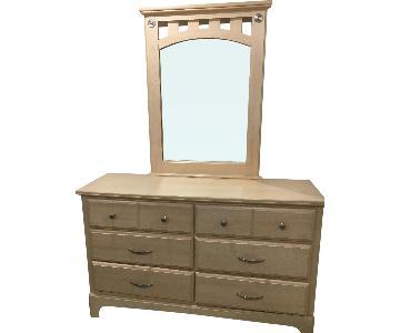 Gothic Cabinet Craft Dresser w/ Mirror