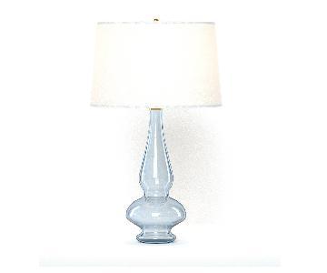 Pottery Barn Aubrey Glass Table Lamp