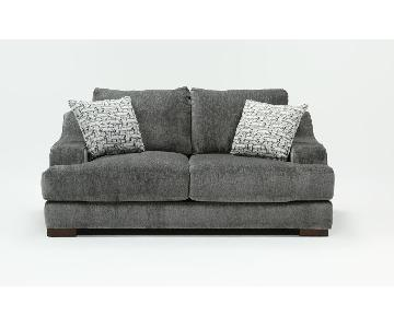 Living Spaces Maddox Sleeper Sofa