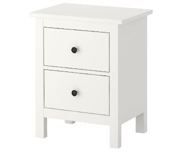 Ikea Hemnes White 2-Drawer Chests