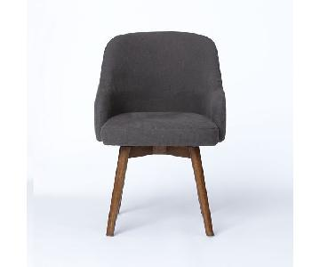 West Elm Saddle Dining Chair