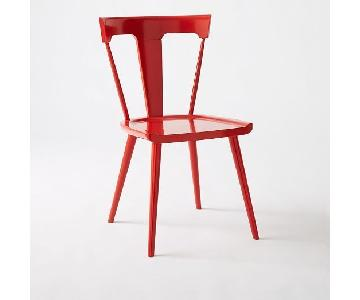 West Elm Splat Dining Chairs