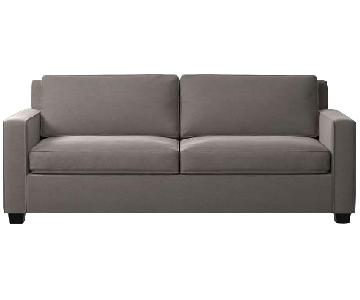 West Elm Henry Sofa in Grey
