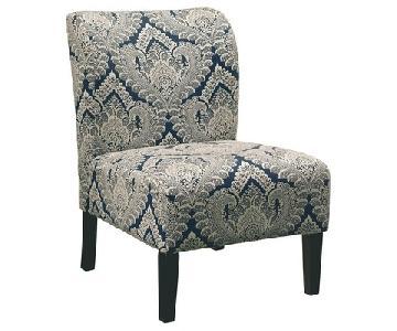 Ashley Honnally Sapphire Blue Accent Chairs